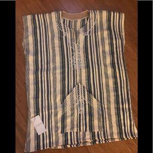 Striped Moroccan tunic